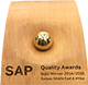 SAP Quality Awards 2014 EMEA GOLD